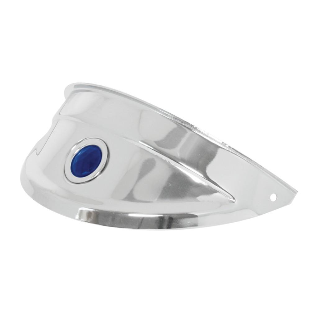 Chrome Plated Steel Headlight Visors Grand General