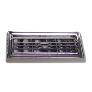 Chrome Plastic Large A C Vent Adjustable Louver For