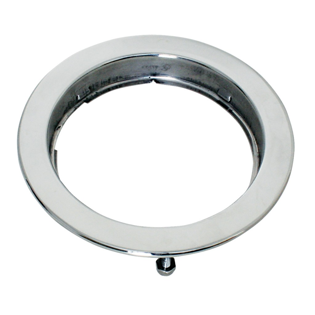 Stainless Steel Flange Mount Bezel With Hidden Studs For 4