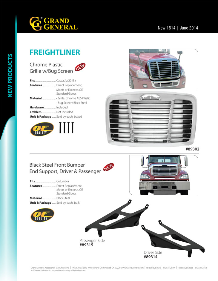 GG Grand General 30952 Green 24 X 6 Inches Poly Top Mud Flap