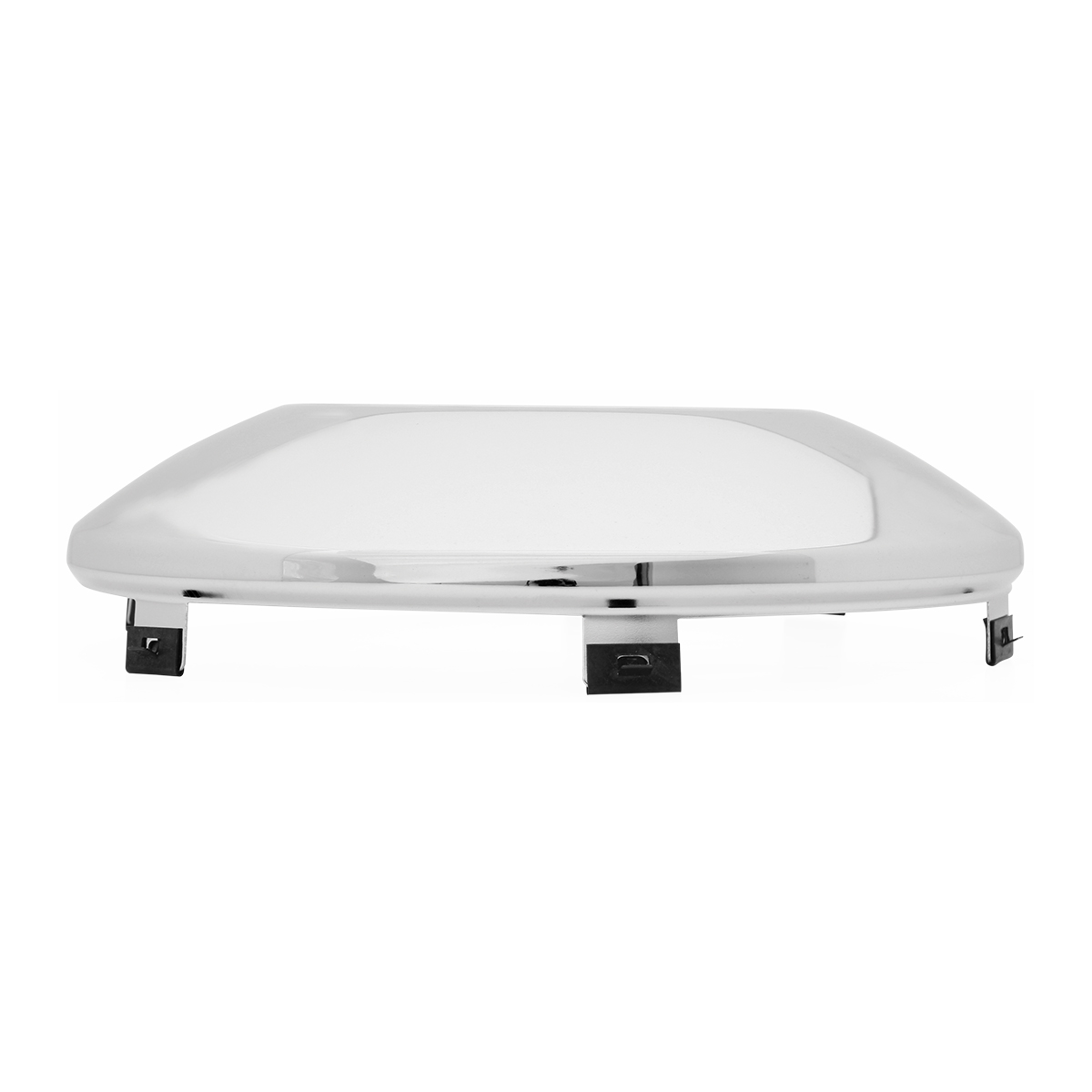Chrome Plated Universal Standard Front Hubdometer Cap - Side View