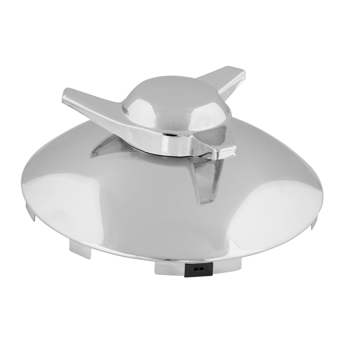 """Universal ⁷∕₁₆"""" Front Hub Caps Notched with R/H Swept Wing Spinner"""