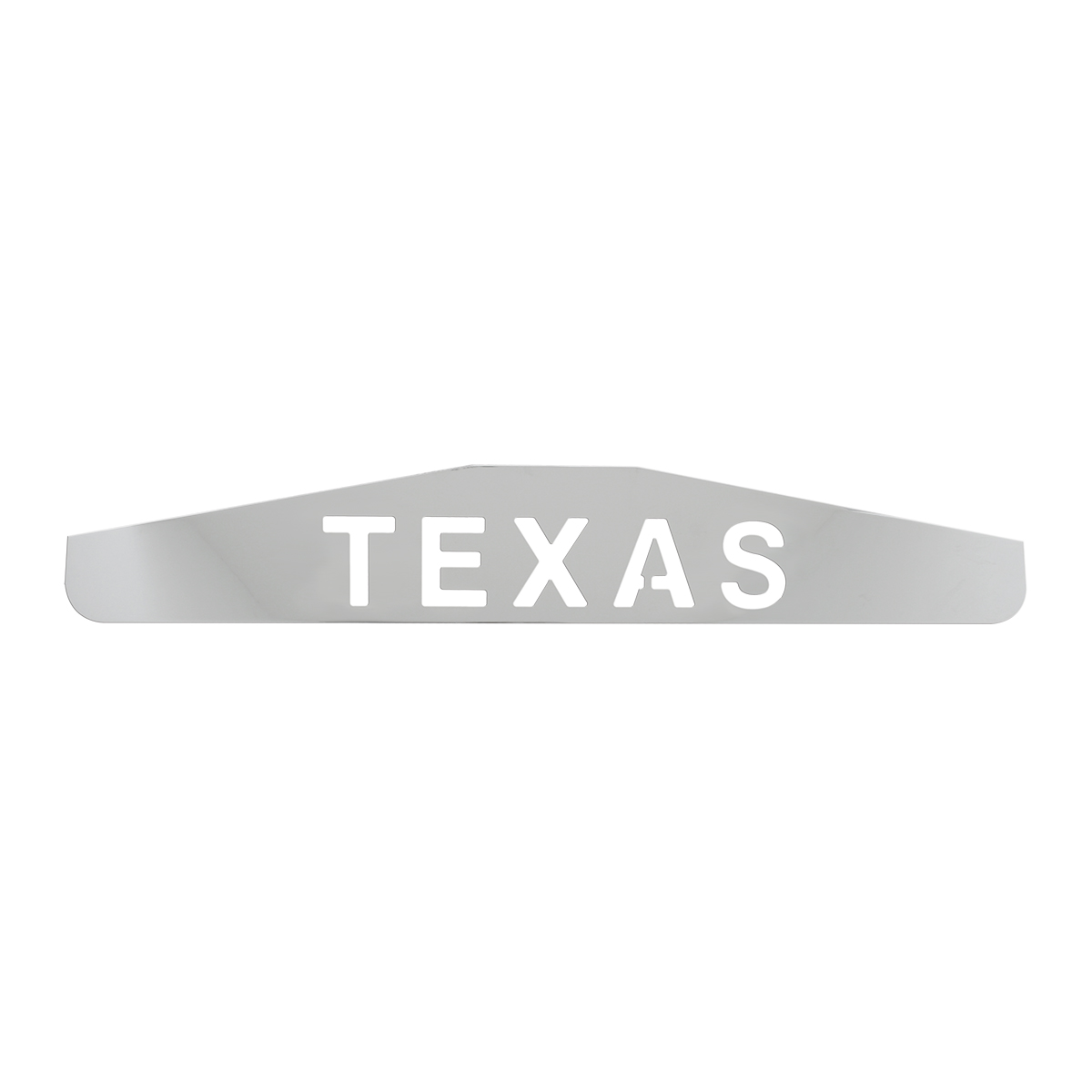 """Bottom Maud Flap Plate with """"Texas"""" Script"""