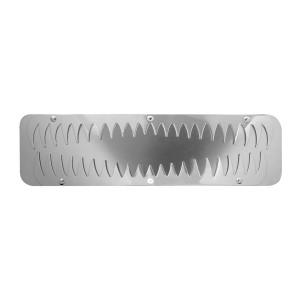 Bottom Mud Flap Plates Shark Teeth Style