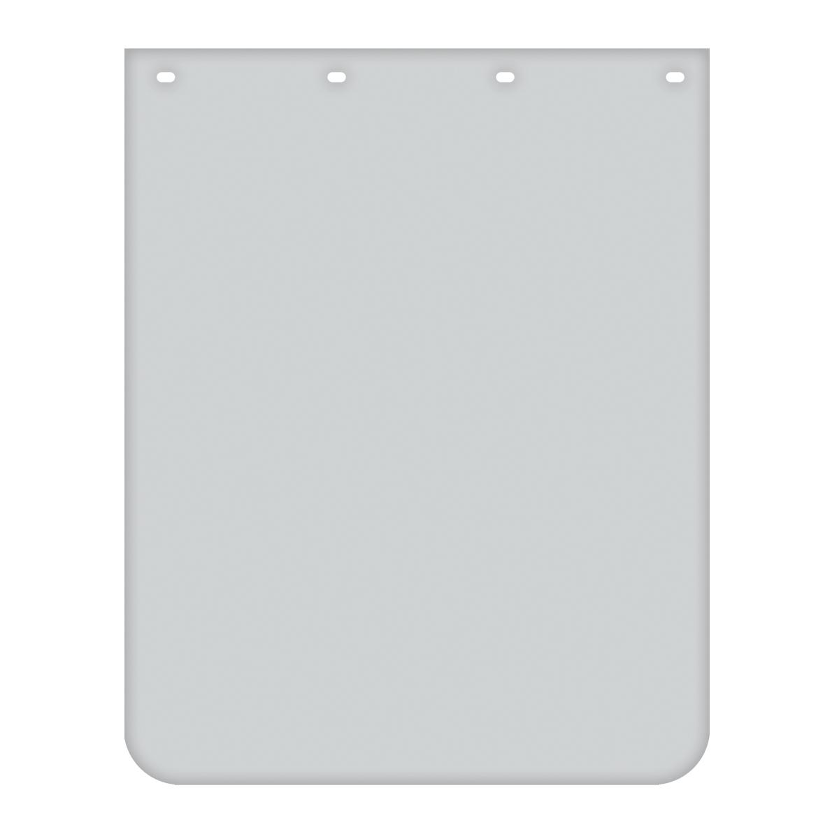 White Plain Poly Mud Flap – Pair