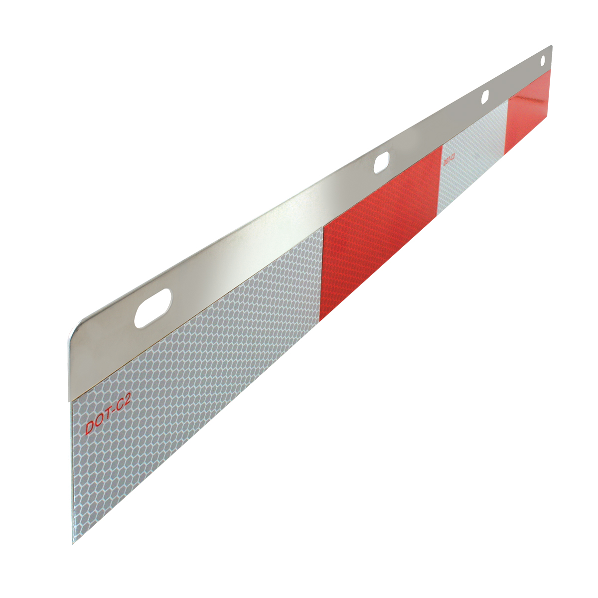 Aluminum Reflector Top Plates W Dot C2 Conspicuity Tape