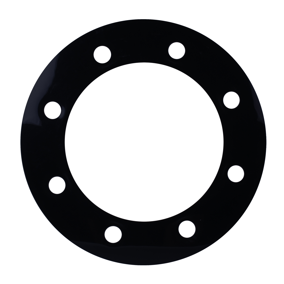 Black Rim Protector with 8 Ring Holes