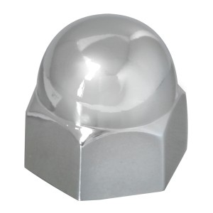 Acorn Zinc Die Cast Push-On Lug Nut Cover