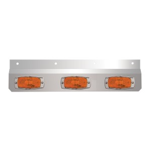Stainless Steel Lighted Top Plates with Cat-Eye Lights