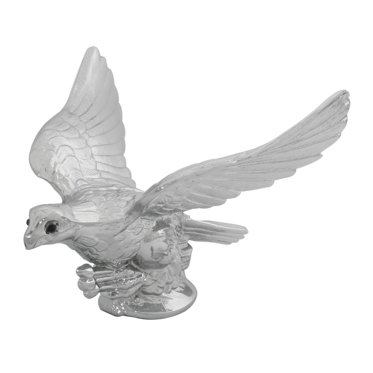 Flying Eagle with Non - Illuminated Amber Eyes