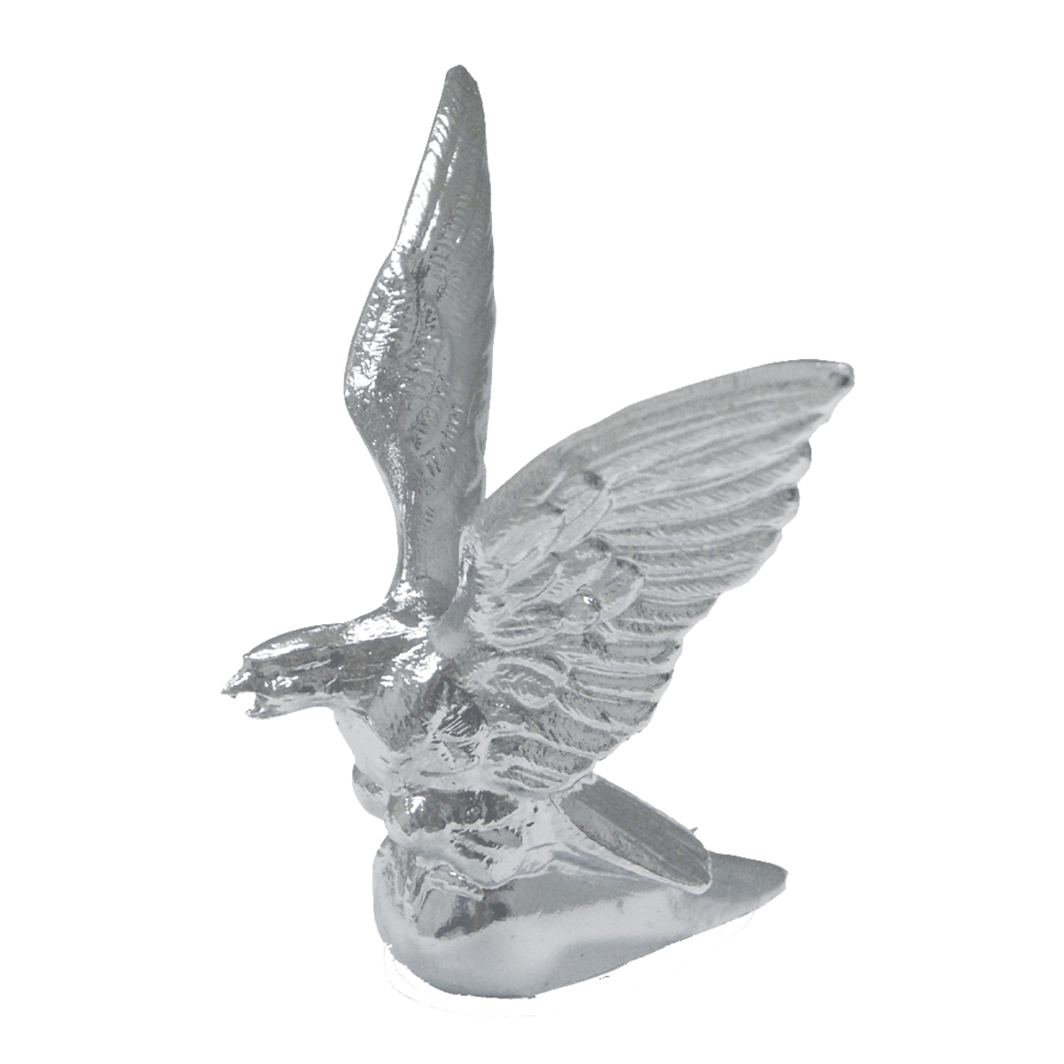 Chrome Die Cast American Eagle Hood Ornament