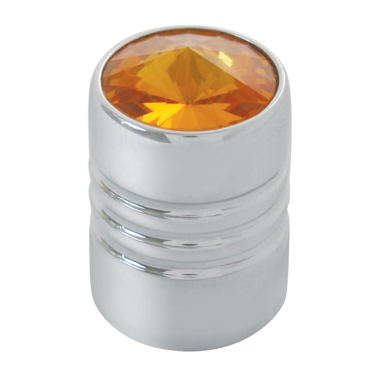 #50870 Tire Valve Stem Cover with Amber Crystal on Top