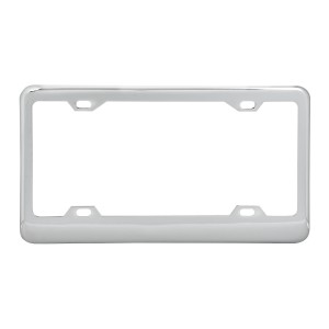 Classic 4-Hole License Plate Frames