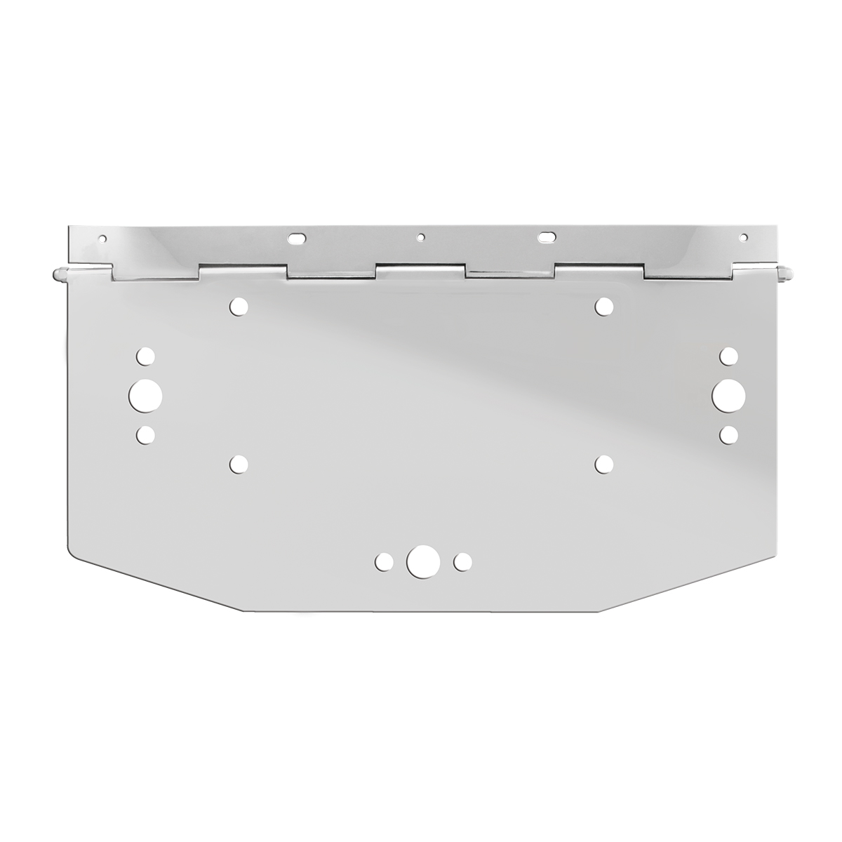 Stainless Steel License Plate Holder Only - 1 Frame