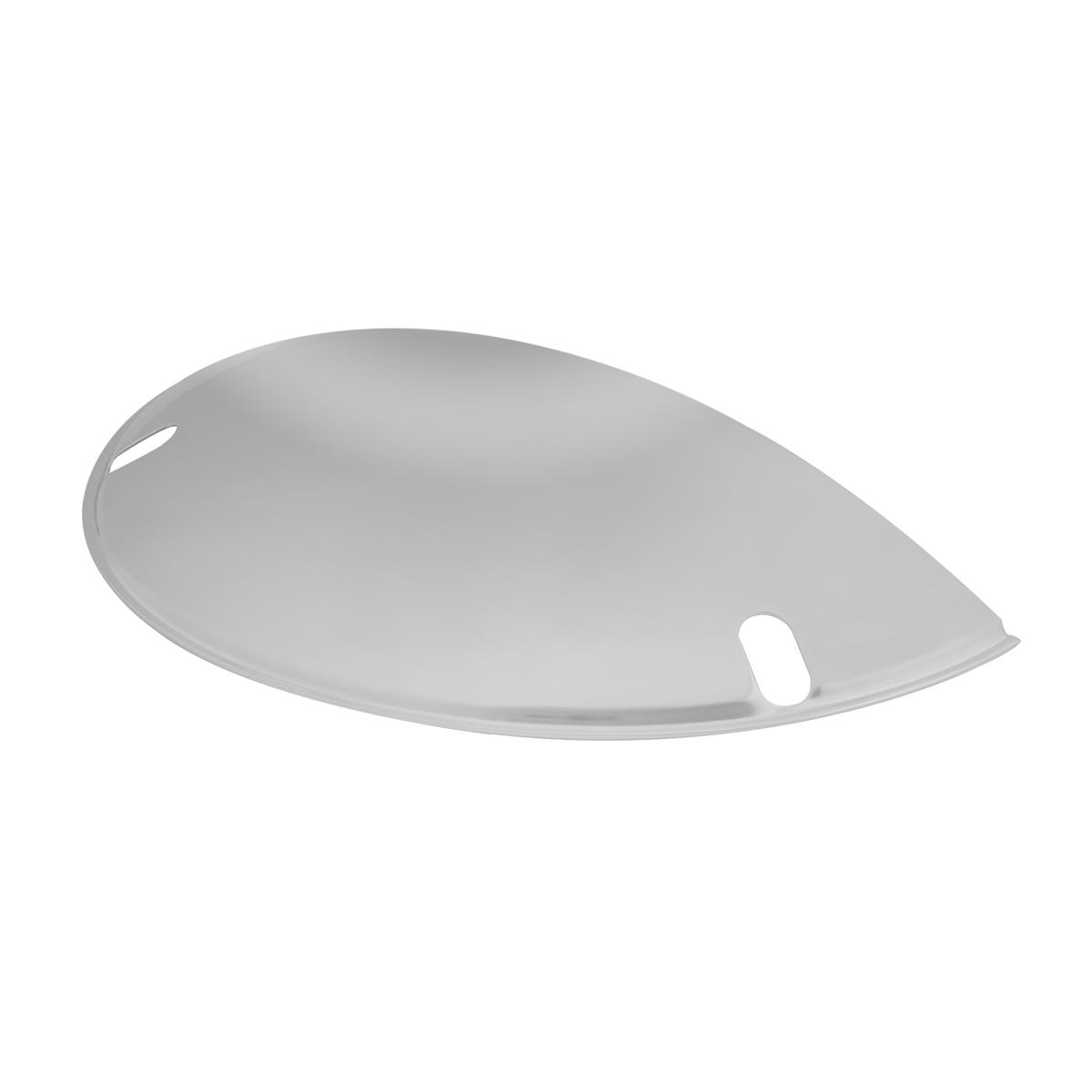 #70520/#70530 Chrome Plated Steel Half Moon Headlight Shield