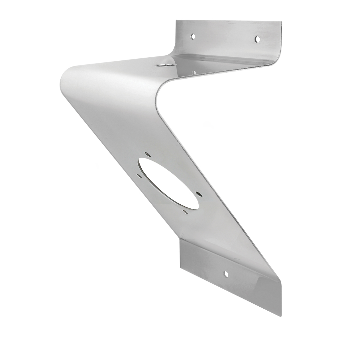 "Stainless Steel Large ""Z"" Shape Light Bracket Only"