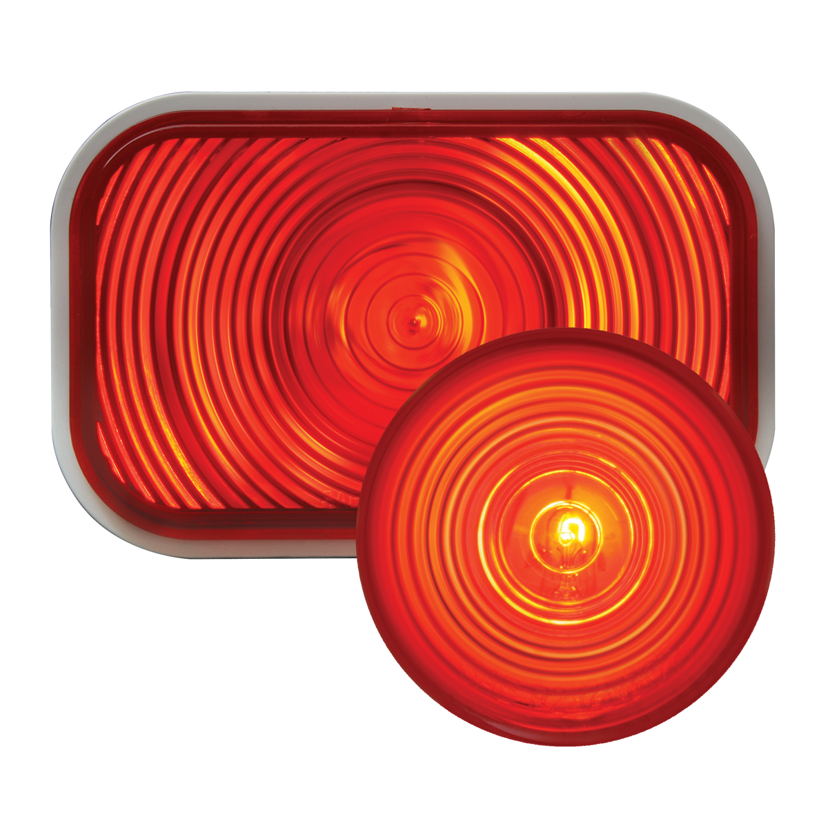 #80785/#78315 Incandescent Flat - Red/Red