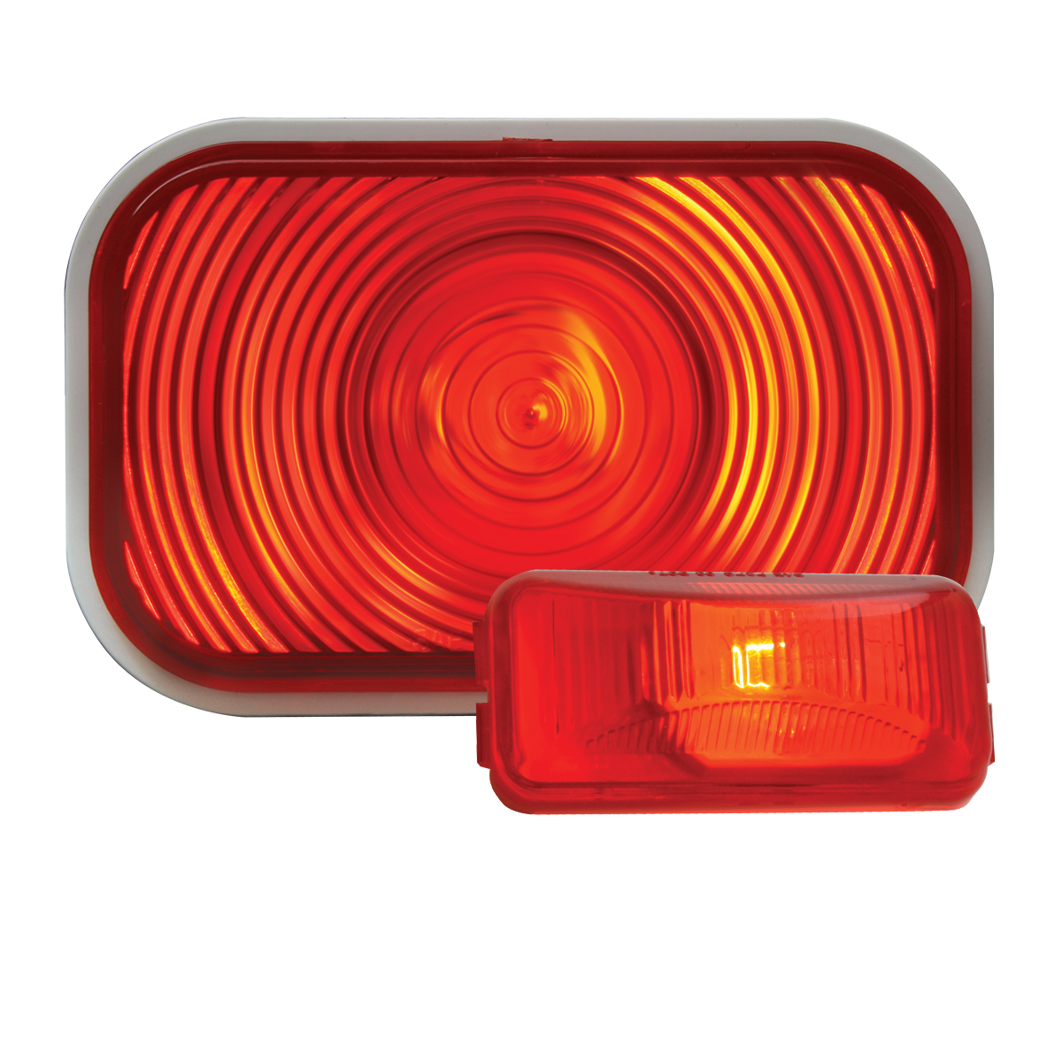 #80785/ #80276 Incandescent Red/Red Flat