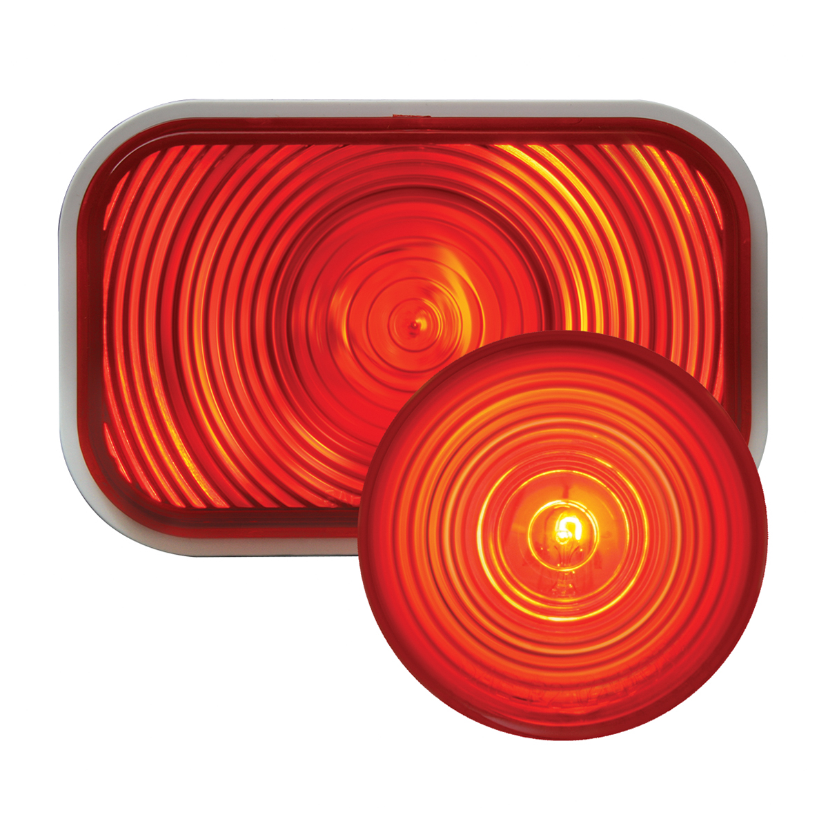 #80785/#80724 Incandescent Flat Light - Red/Red