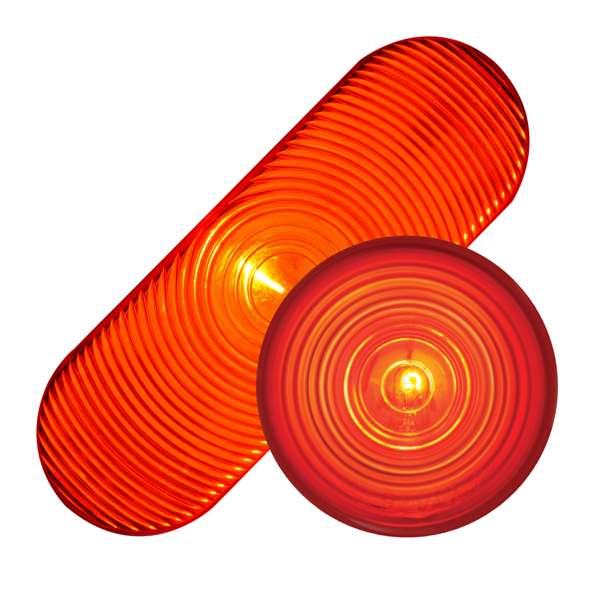 #80805/#78315 Incandescent Red/Red - Flat