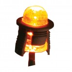 Single LED Replacement Light Bulb for Hood Ornament