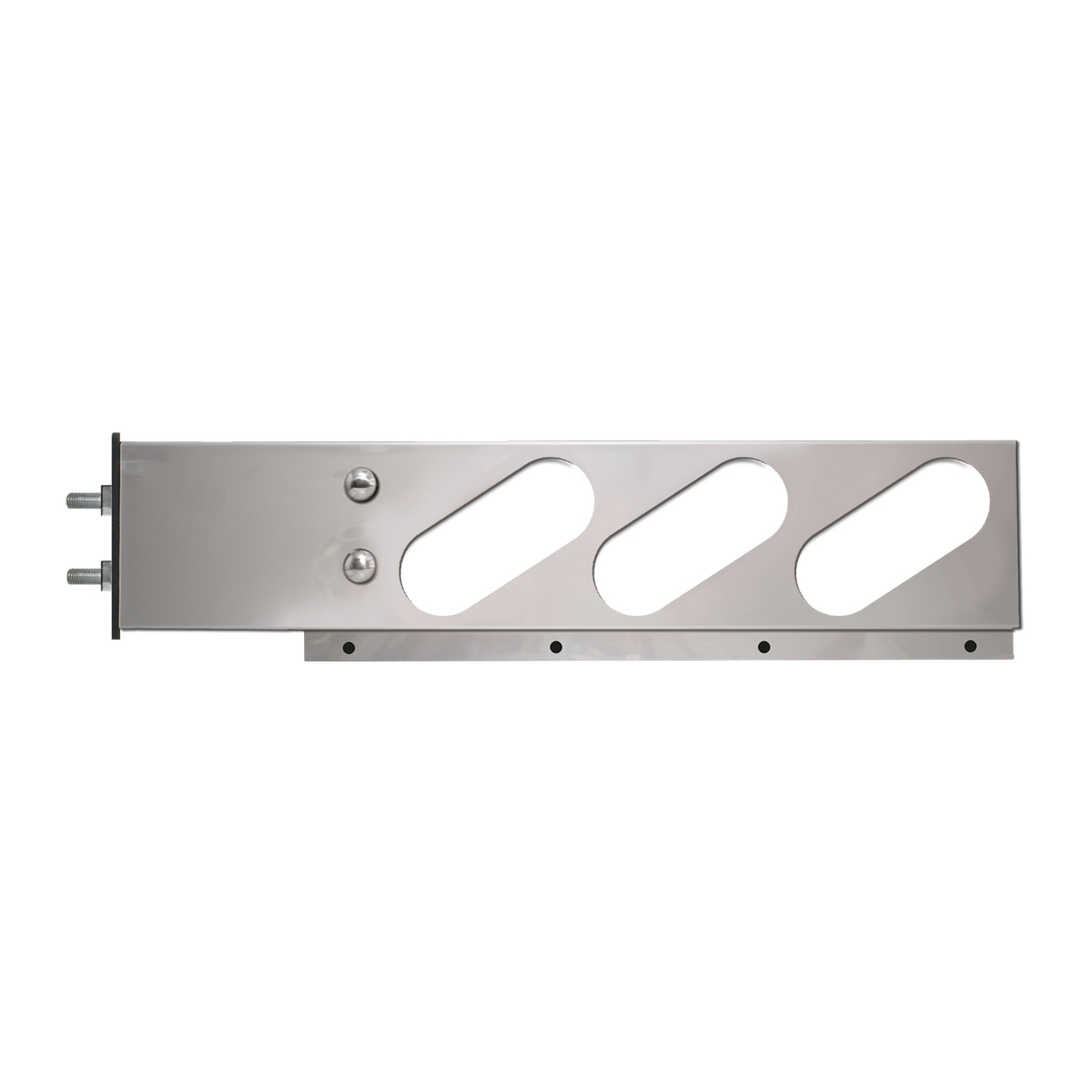 #87170 - Stainless Steel Two Piece Spring Loaded Light Bars Only