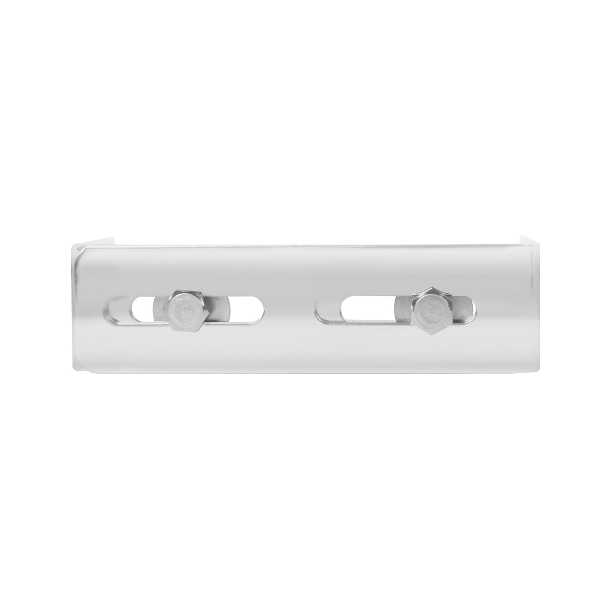 #91137 Chrome Plated Steel Adjustable C.B. Bracket - Front View