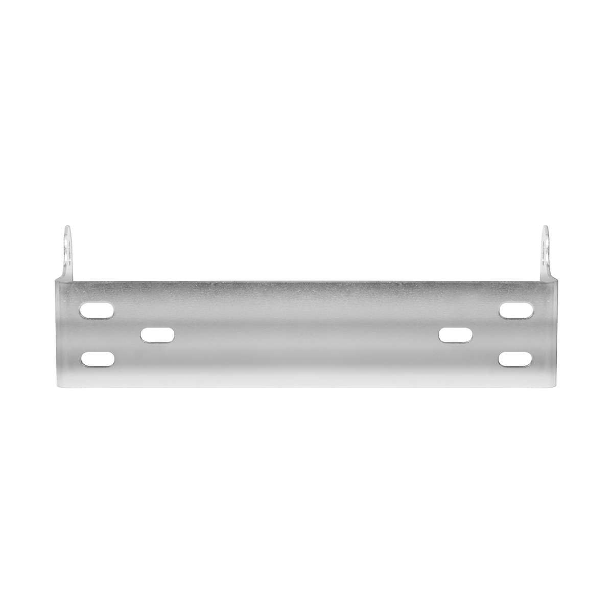 Zinc Plated Universal Mounting Bracket for C.B. Radio - Front View