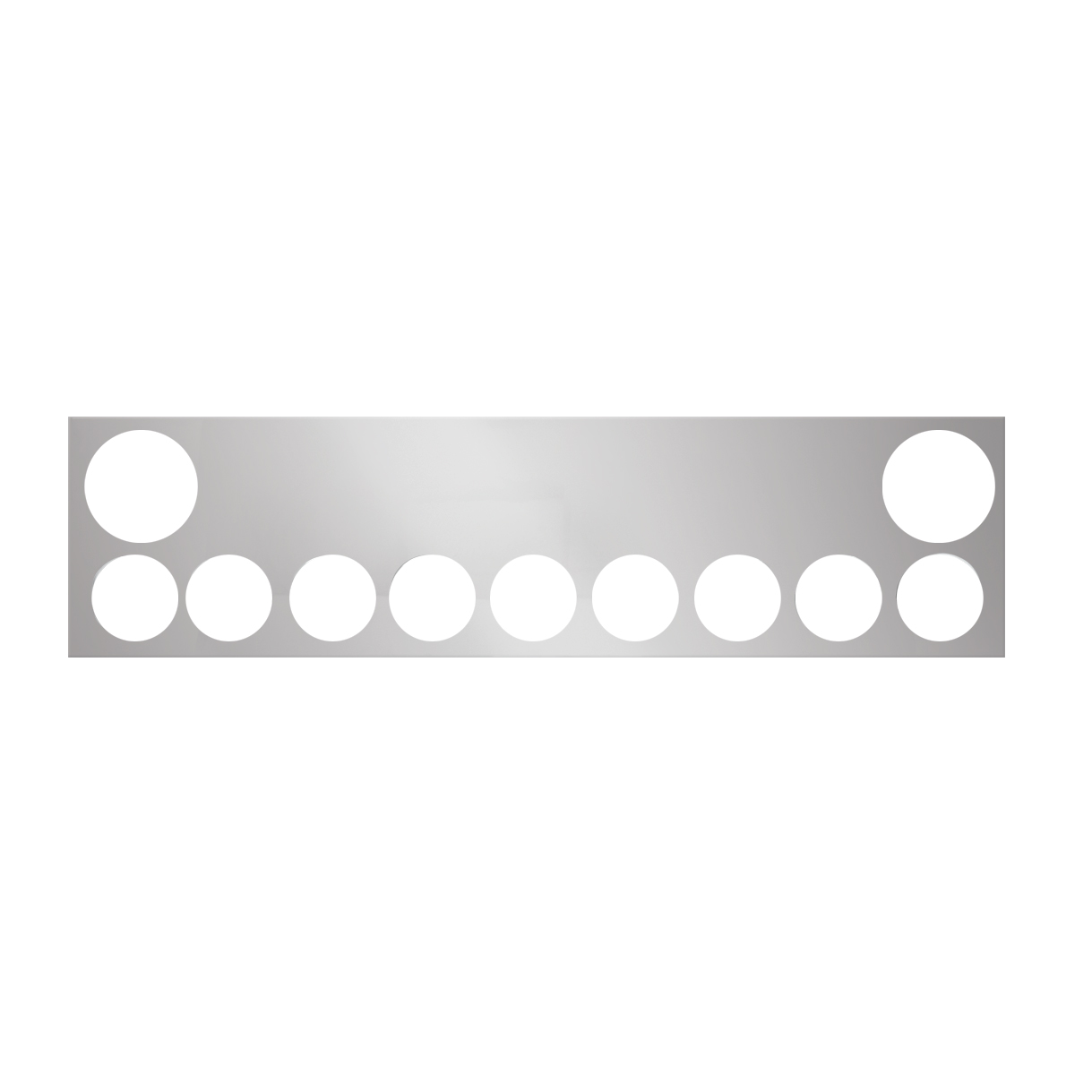 #91888 Chrome Plated Steel Panel Only