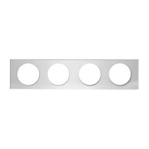 Chrome Center Light Panels with 4″ (4) Round Lights