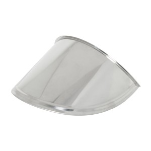 7″ Headlight Extended Visor