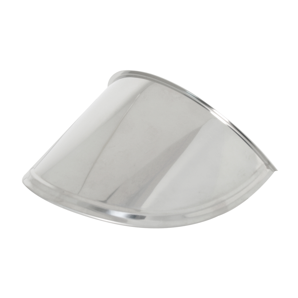 "7"" Stainless Steel Headlight Extended Visor"