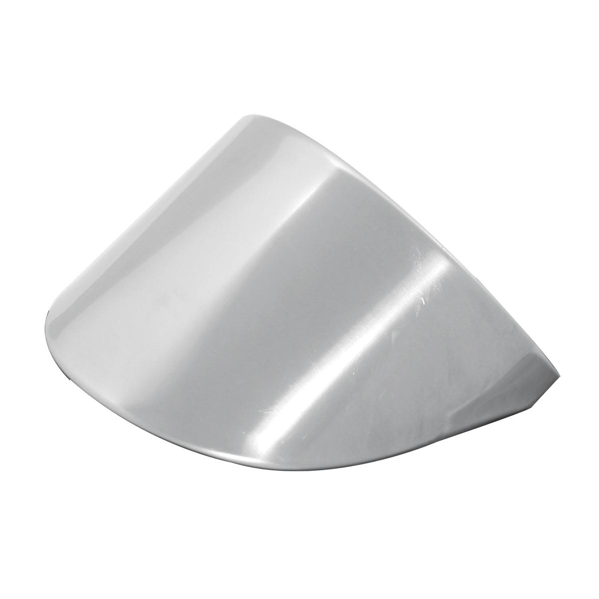 """Stainless Steel 2 ½"""" dia. Marker Light Visors – Down"""
