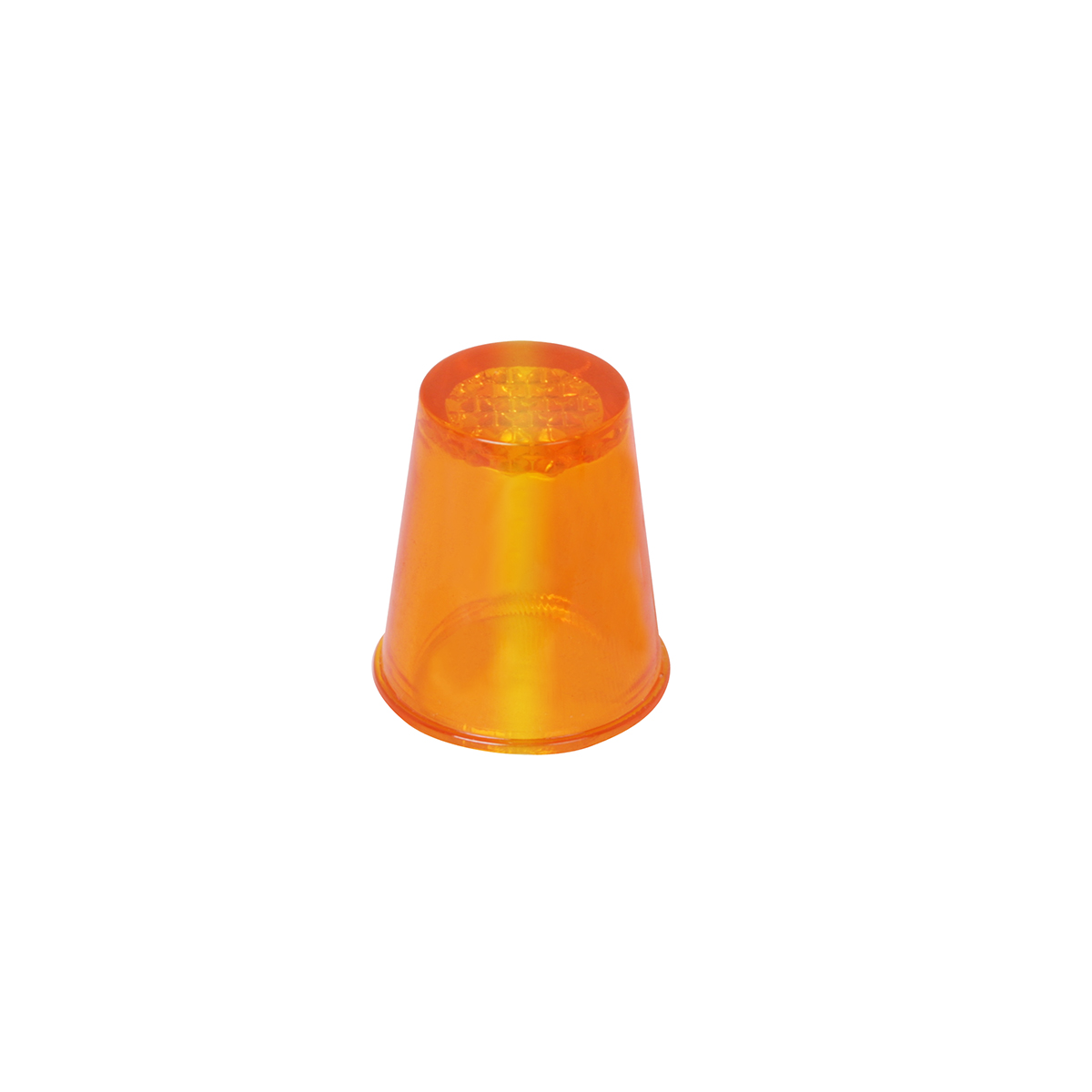 #94125 Amber Cap Style Lens Only