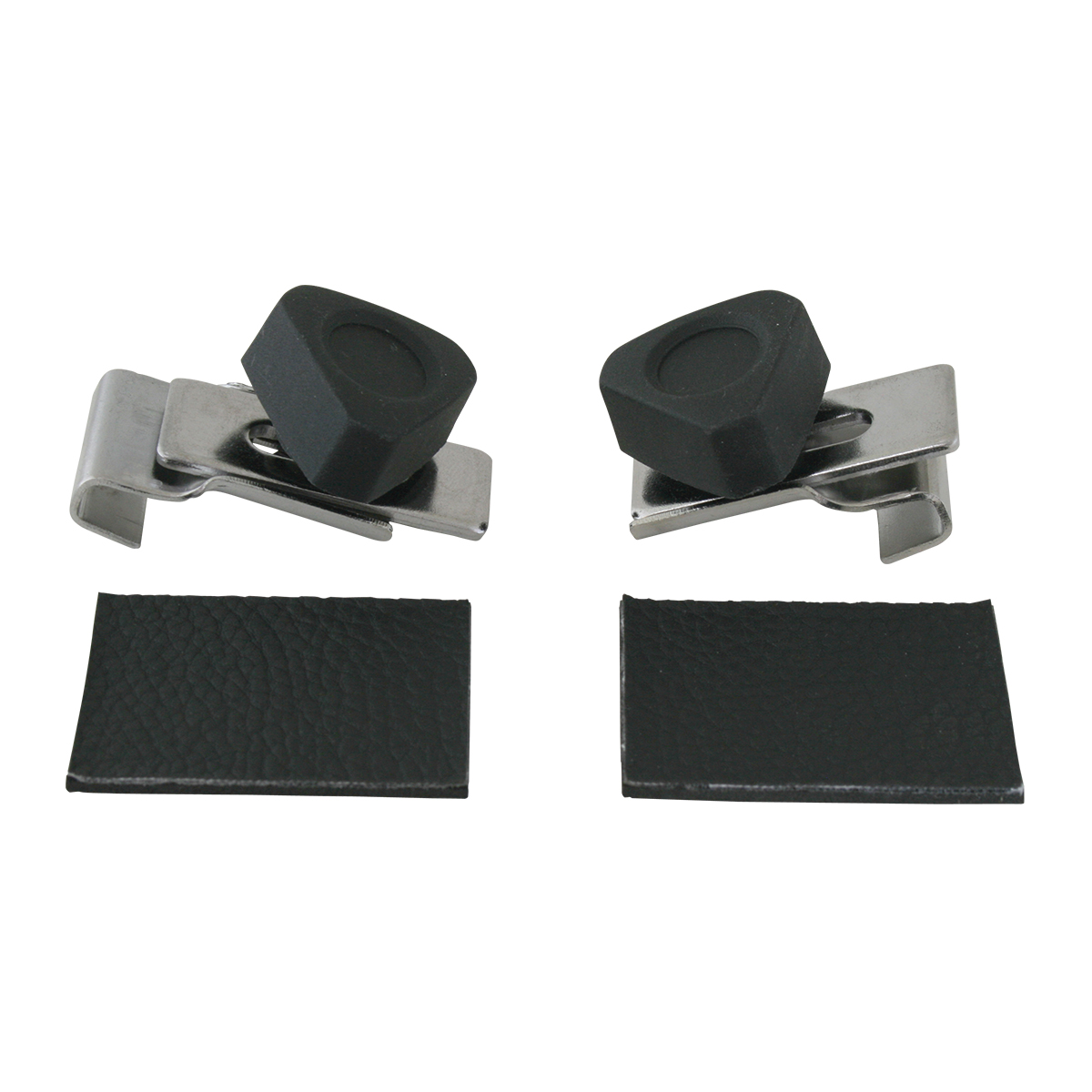 #95010 Chrome Plated Steel w/ Plastic Turn Knobs Vent Window Lock