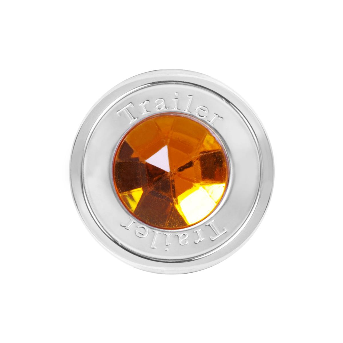 95820 Trailer Air Control Knob w/ Amber Crystal