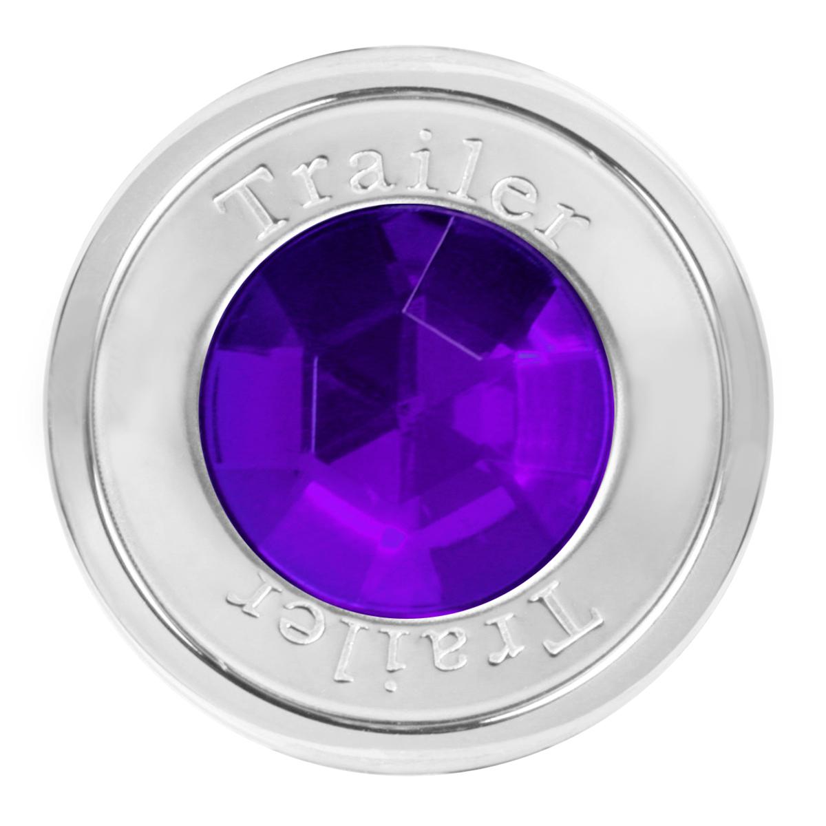95824 Trailer Air Control Knob w/ Purple Crystal