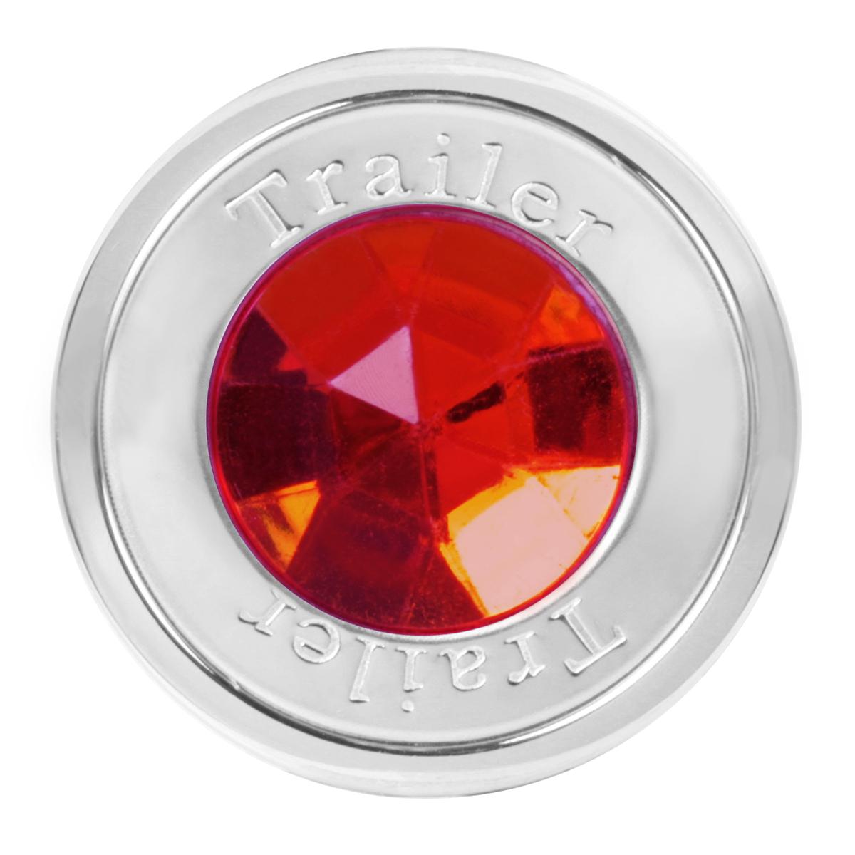 95825 Trailer Air Control Knob w/ Red Crystal