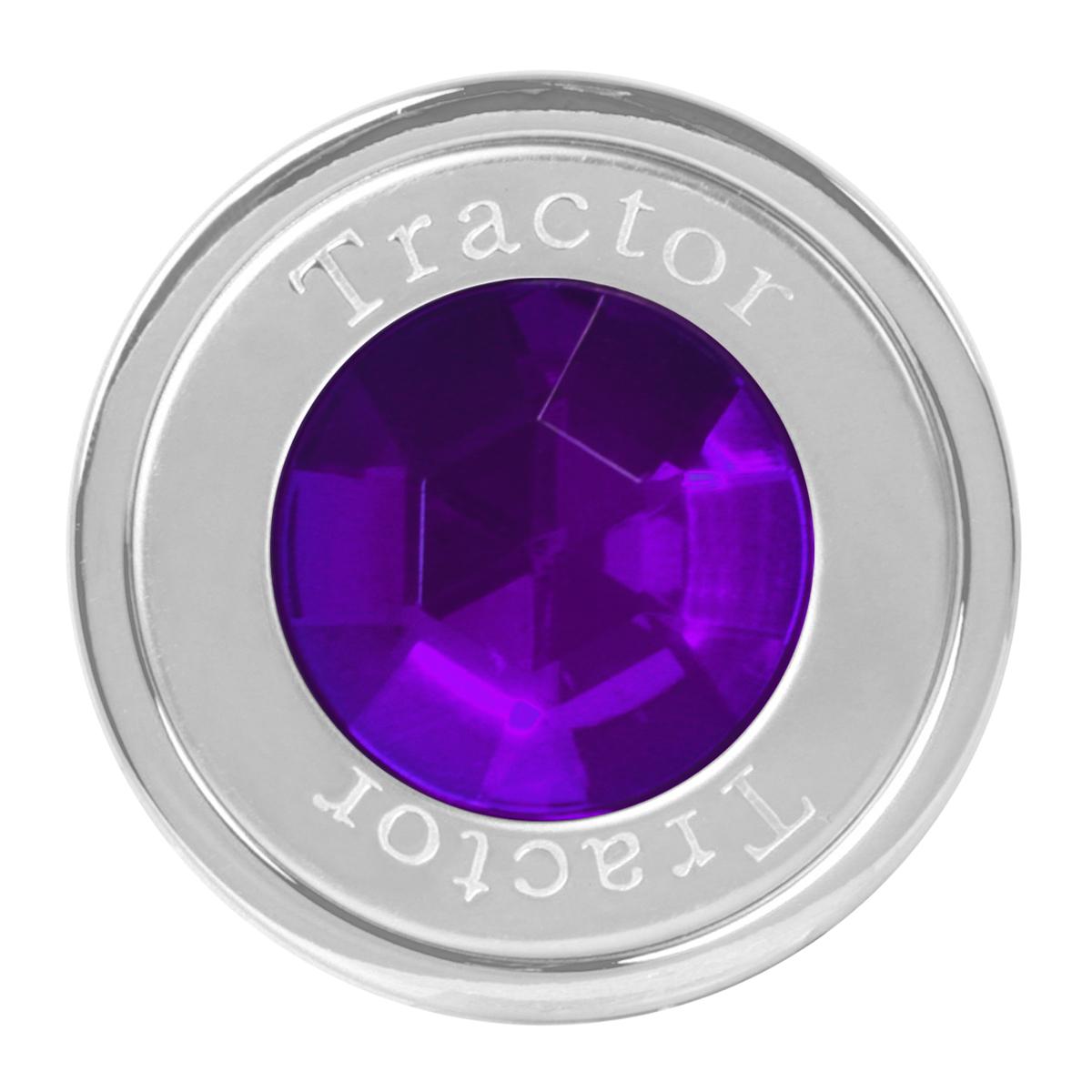 95834 Tractor Air Control Knob w/ Purple Crystal