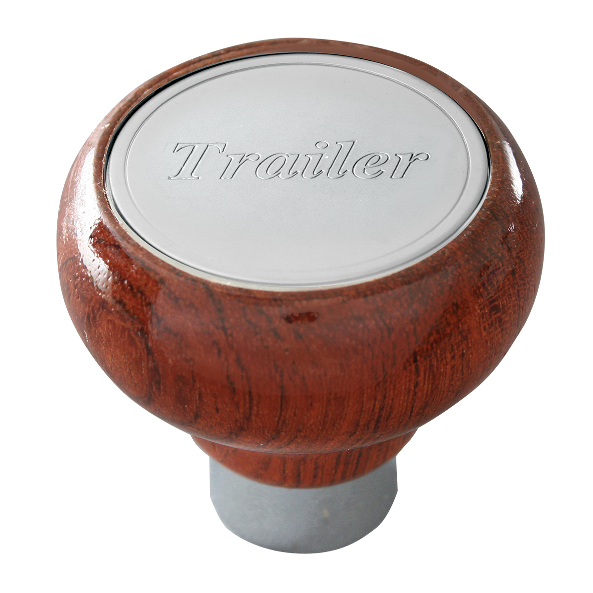 96025 Trailer Screw-In Rosewood Air Valve Control Knob