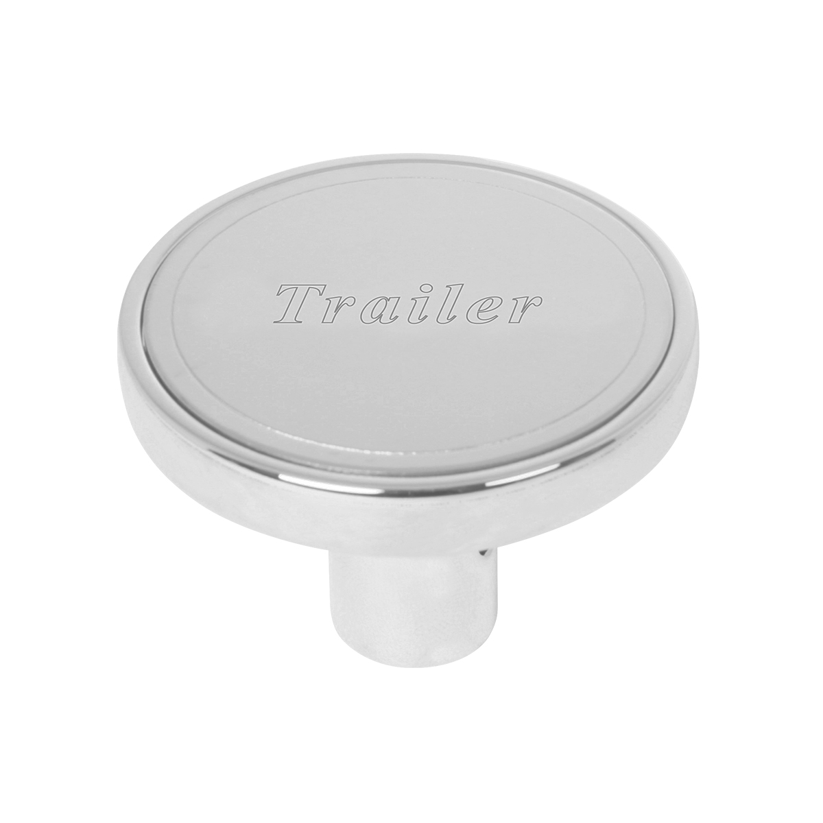 "#96237 Air Valve Control Knob w/Stainless Steel Plate (1 ¹⁵∕₁₆"" dia. x 1 ⁵∕₁₆"" (H) x ⅜"" I.D. ) - Trailer"