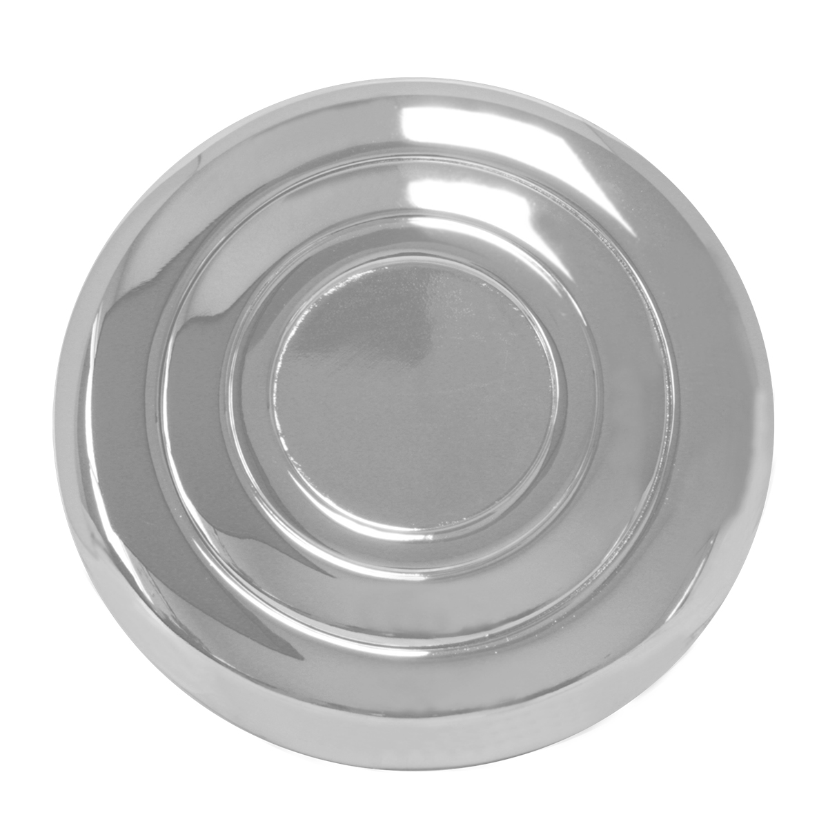 54021 Chrome Steel Steering Wheel Horn Button