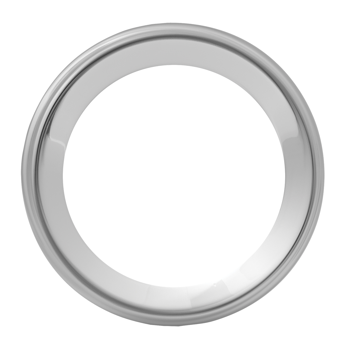 68162 Chrome Steel Small Snap-On Gauge Cover for Pete