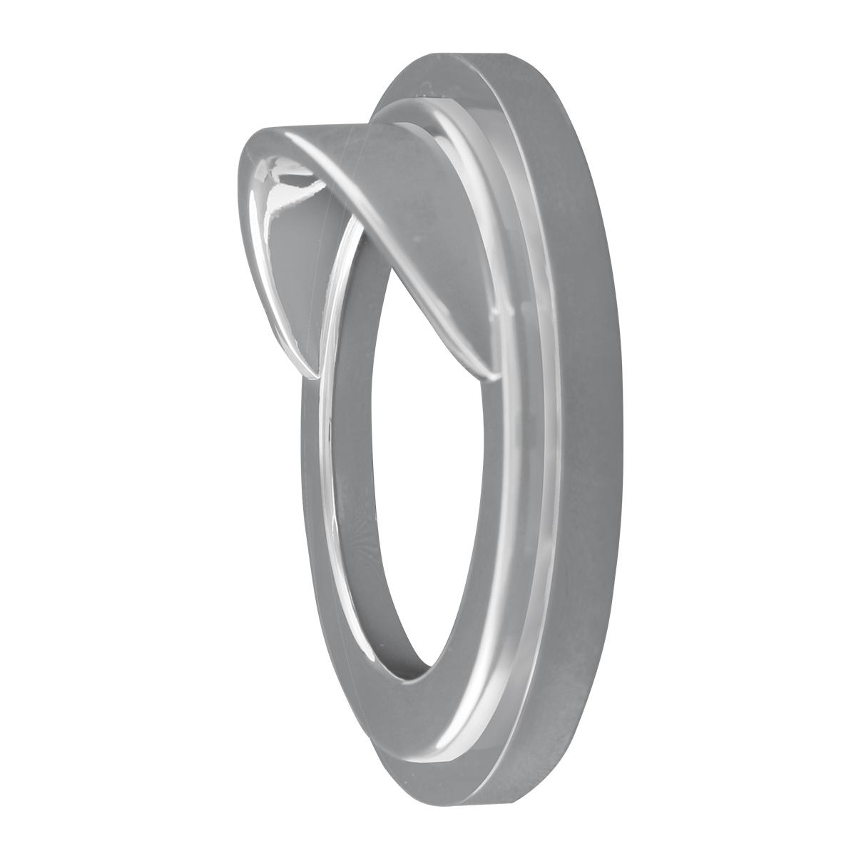 Chrome Plastic Gauge Cover w/ Visor for FL