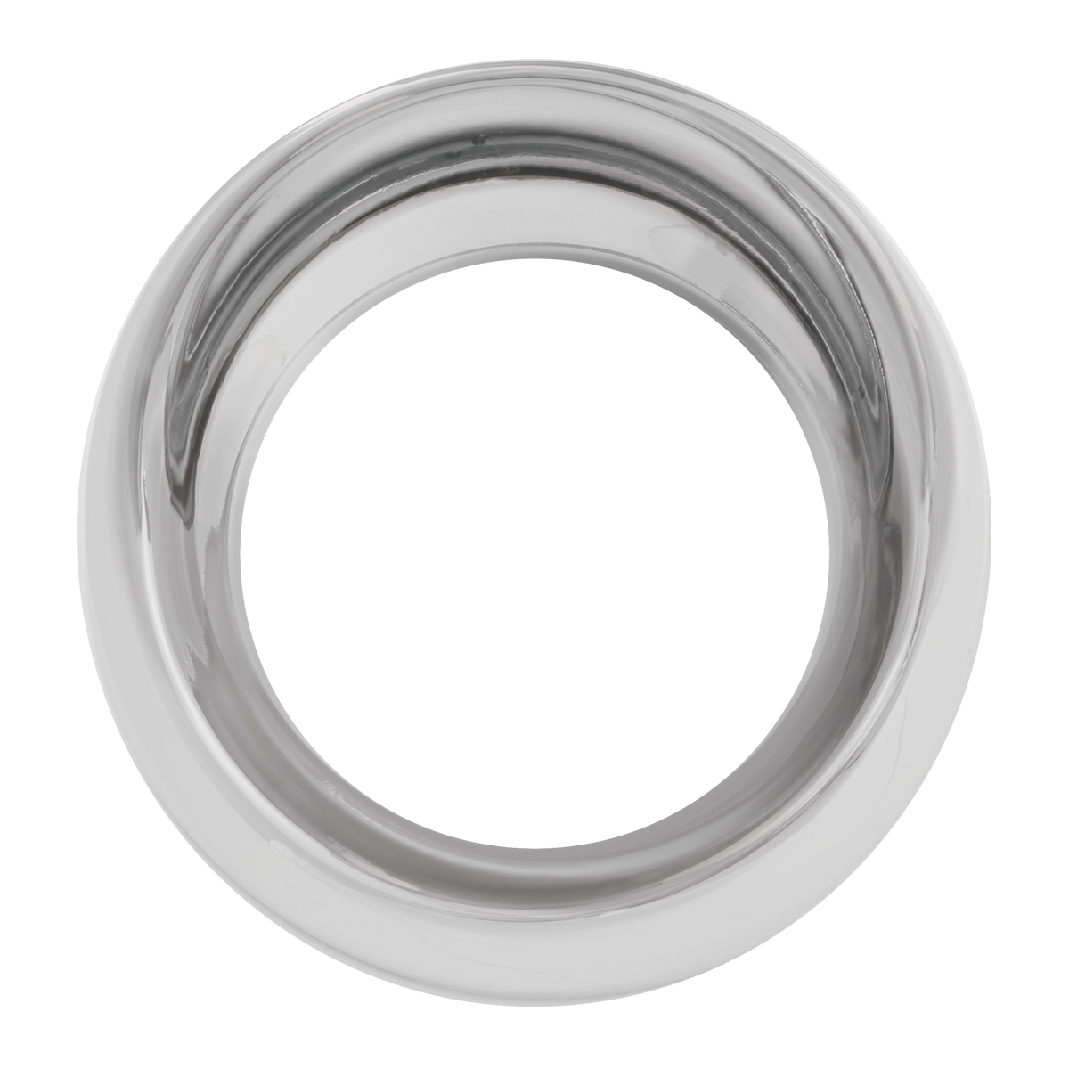 68398 Chrome Plastic Pyrometer Gauge Cover for Pete & FL