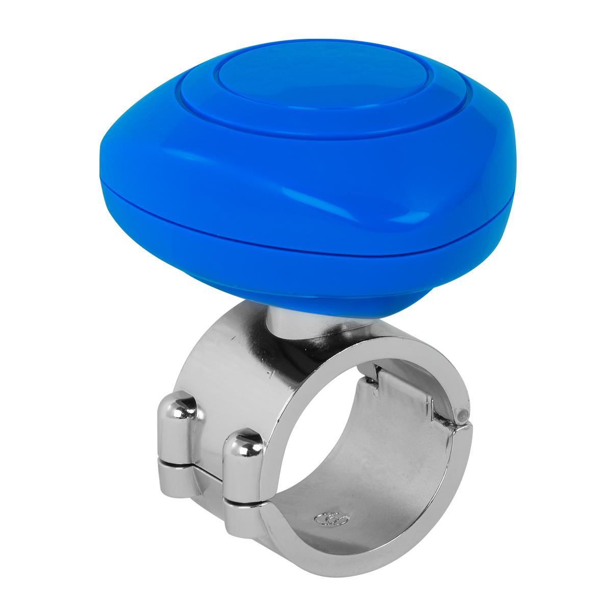 80105 Blue Plastic Steering Wheel Spinner