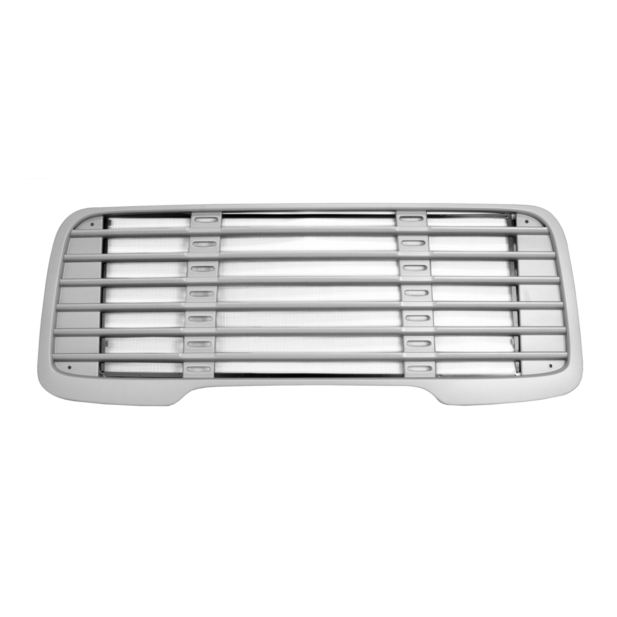Plastic Grille Silver Paint Finish With Bug Screen For