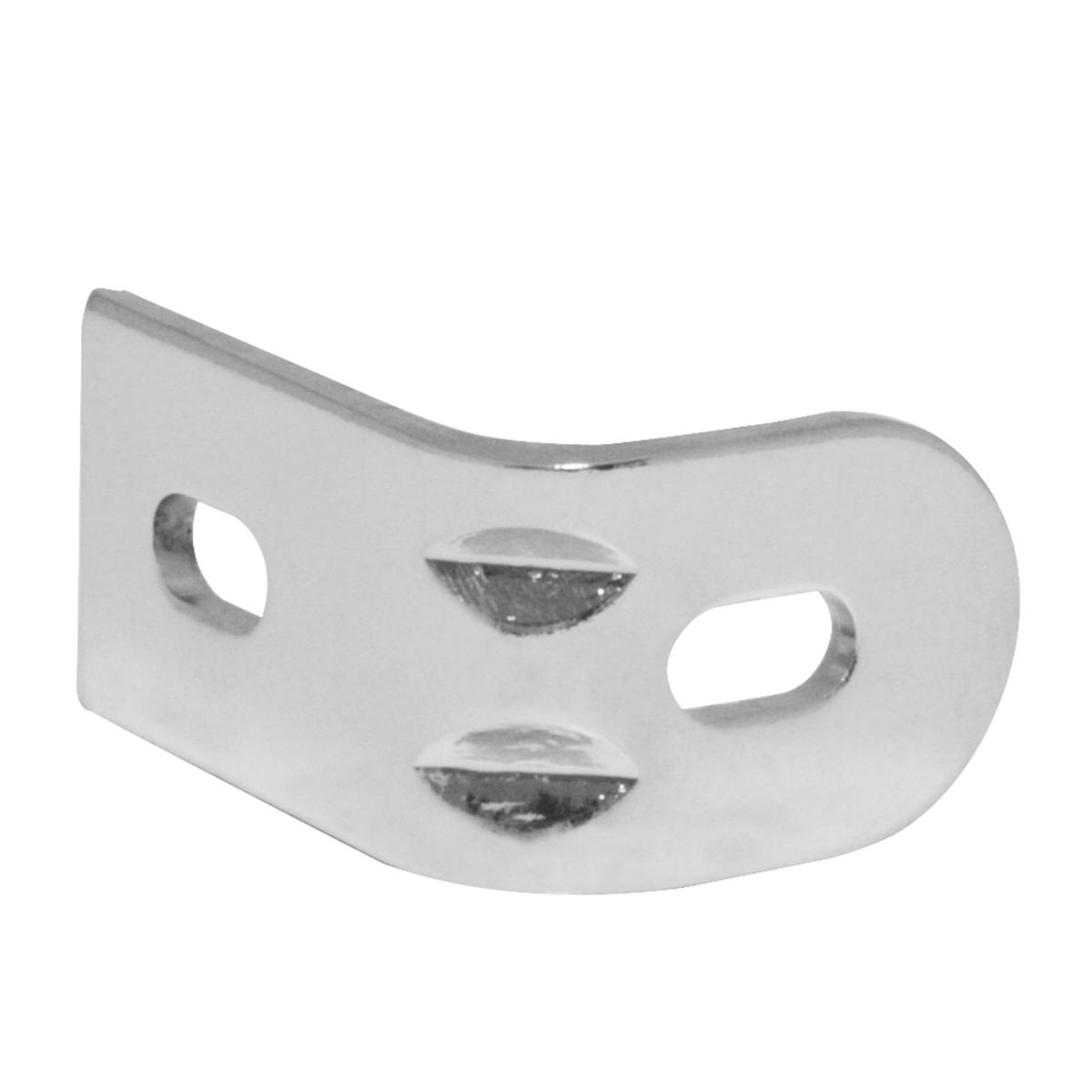 90750 Chrome Bracket for Bug Deflector