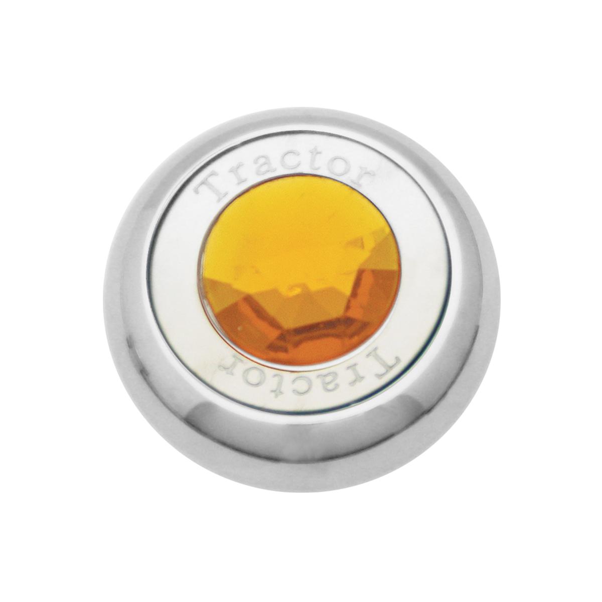 95370 Chrome Screw-In Air Valve Control Knob w/ Crystal