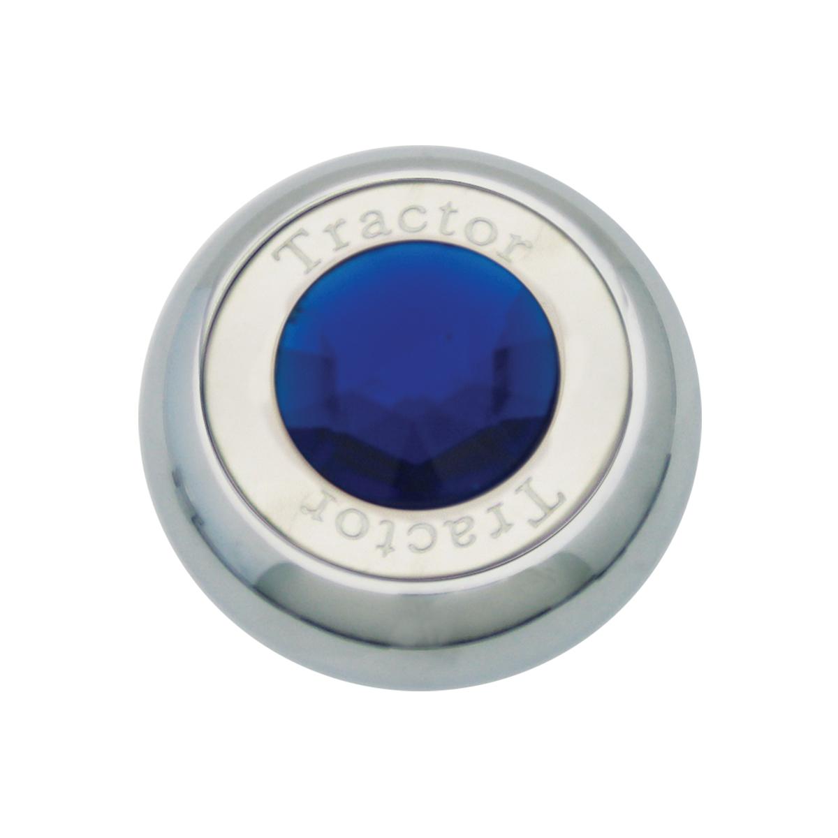 95371 Chrome Screw-In Air Valve Control Knob w/ Crystal